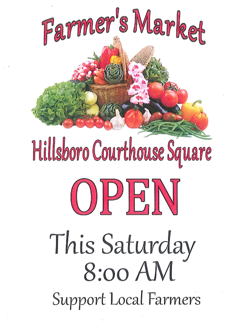 Farmers Market from the City of Hillsboro