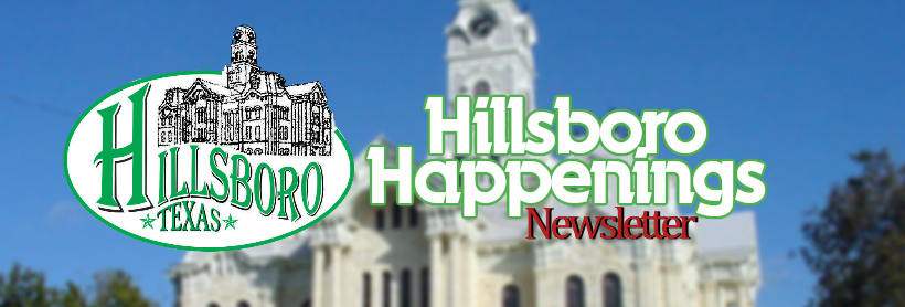 July Hillsboro Happenings Newsletter