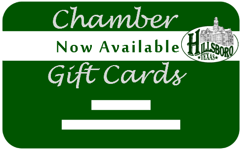 Hillsboro Chamber of Commerce GIFT CARD