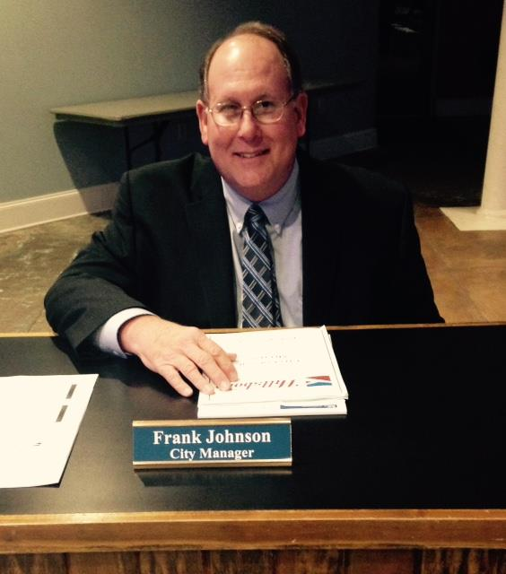 Welcome New City Manager, Frank Johnson