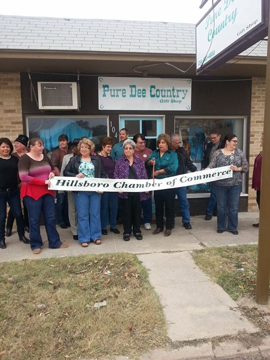 Ribbon Cutting For Dee's Pure Country Shop
