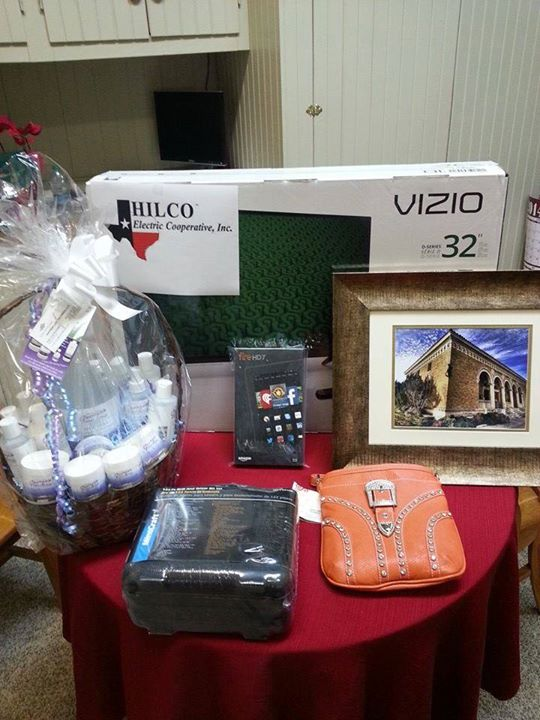 Get a sneak peek of items that will be auctioned at the chamber banquet!