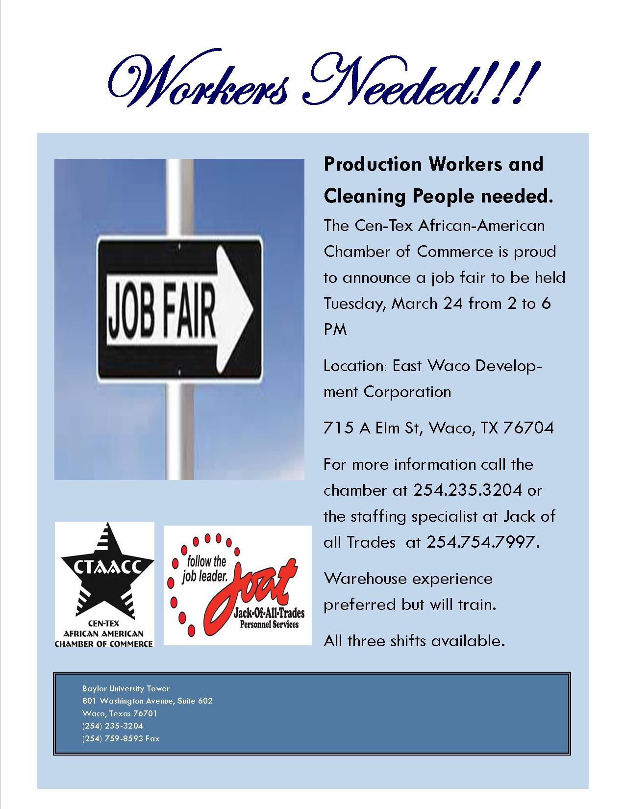 Job Fair in East Waco