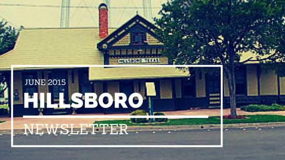 June Hillsboro Happenings Newsletter