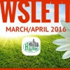 March/April Newsletter 2016