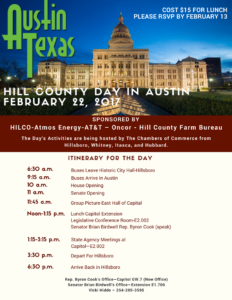 Hill County Day in Austin