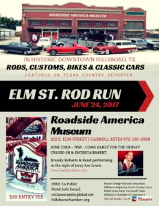 Carroll Estes' Elm Street Rod Run