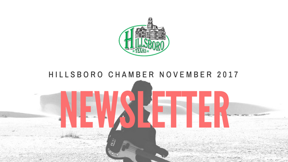 NOVEMBER CHAMBER OF COMMERCE NEWSLETTER